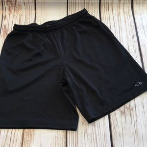 🦁Men's mesh Champion lined stretch waist shorts